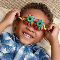 Crafty googly glasses
