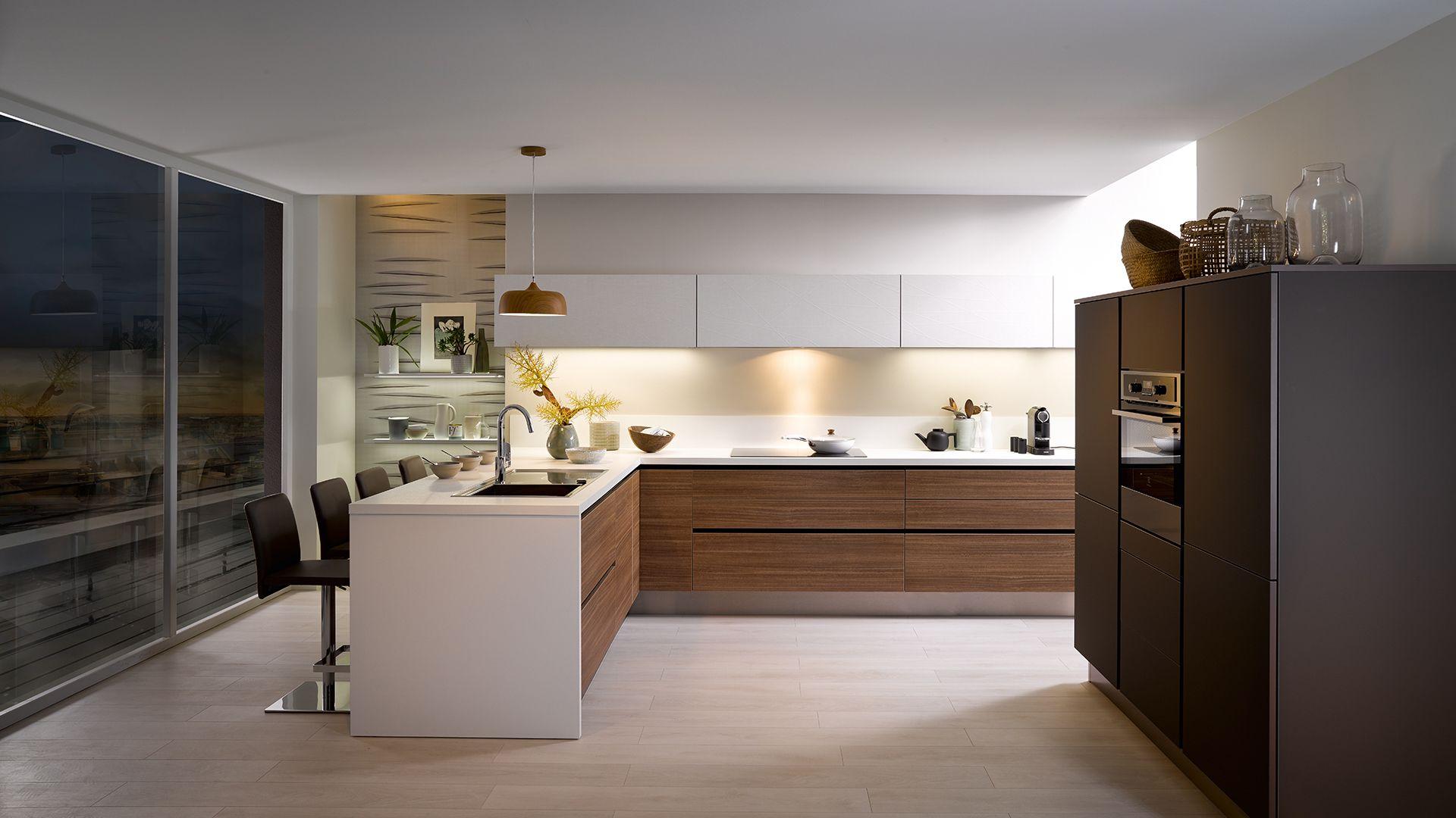 cuisine quip e e label style design bois cuisinella. Black Bedroom Furniture Sets. Home Design Ideas