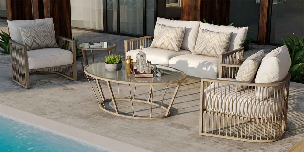 La Veranda Home Garden Elegant And Luxurious Outdoor Furniture Shading Solutions And Bbq Grills Outdoor Living Trends Luxury Outdoor Furniture Furniture
