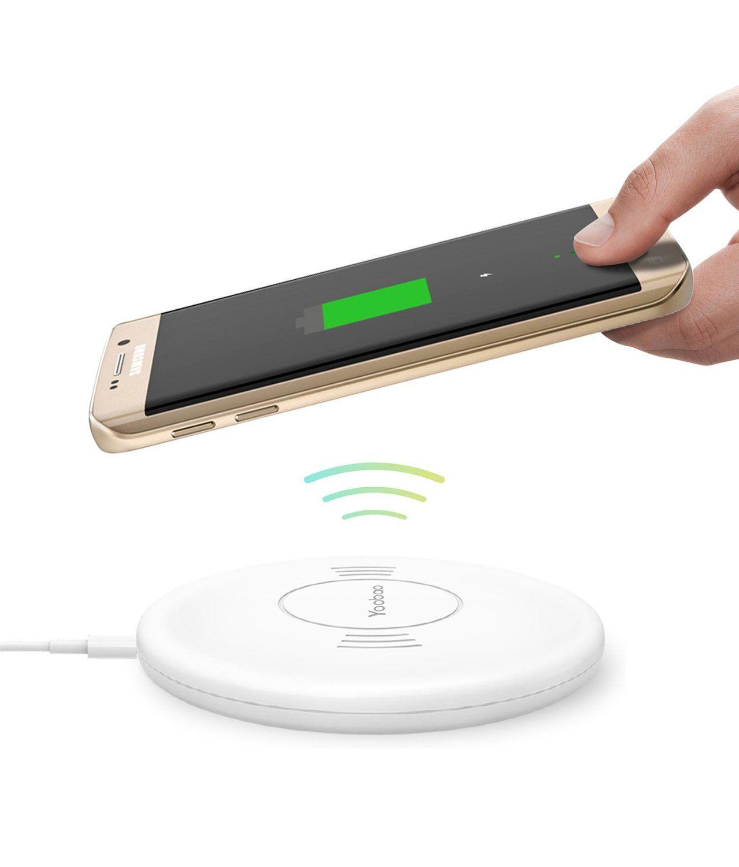 Amazon Com Wireless Charger Yoobao Ultra Thin Wireless Charging Pad For Wireless Charger Wireless Charging Pad Wireless