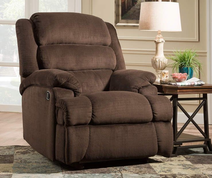 Stratolounger Samson Chocolate Big One Recliner Recliner