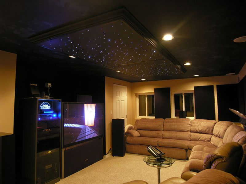 Stars Lights On Ceiling So Doing This In The Media Room Star Ceiling Star Lights On Ceiling Home Lighting Design