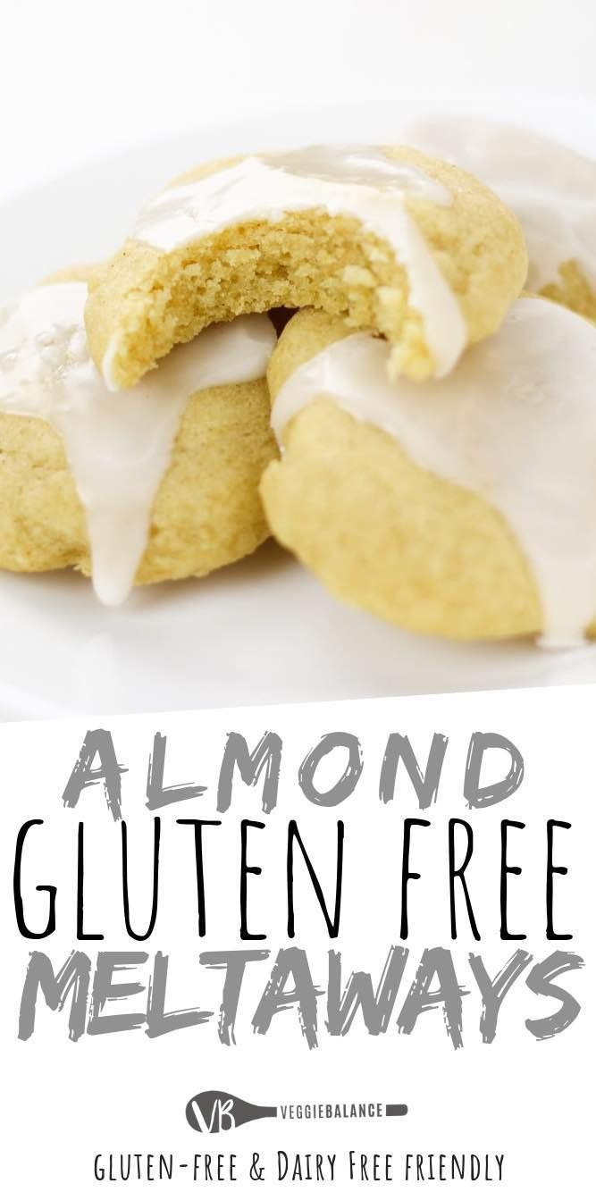 Photo of Gluten-Free Almond Meltaway Cookies
