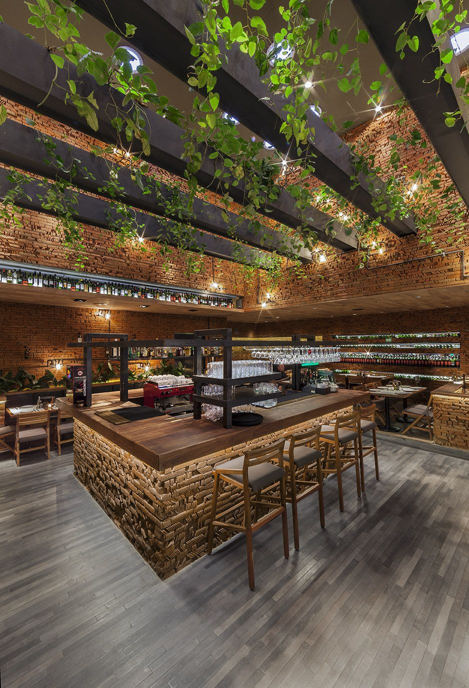 Mg g deco restaurant pinterest