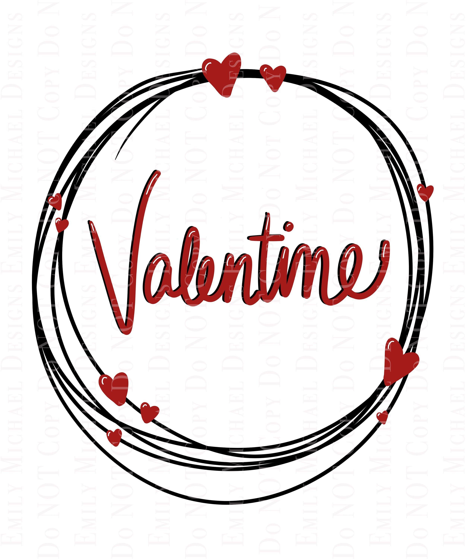 Valentine Art Png Digital Download Png Hand Drawn Valentine Etsy Valentines Art Hand Lettering Print Gifts