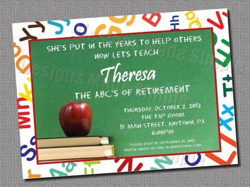 Retirement Party Invitations Templates Free With Whiteboard