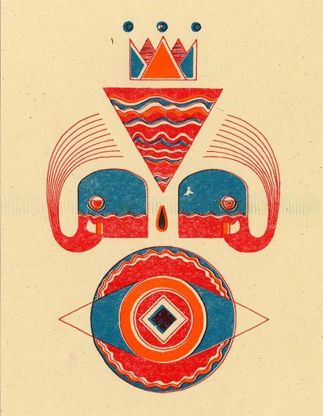 Untitled, 9  Riso print - Harry Diaz