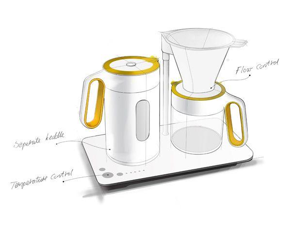 Coffee Machine by Coffee Lovers for Coffee Lovers | Yanko Design