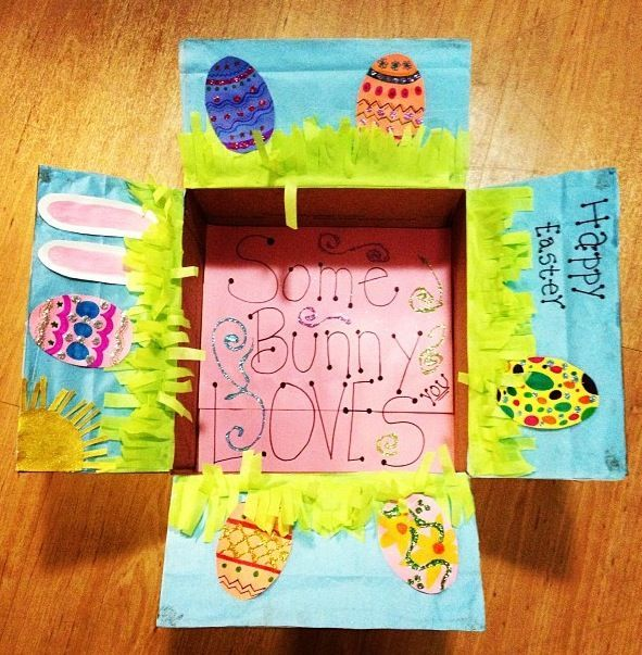 Easter care package care packages pinterest easter easter care package negle Images