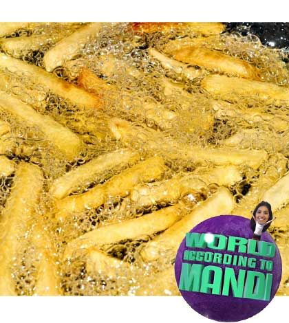 No more deep frying! | Greasy food, Coconut oil uses ...