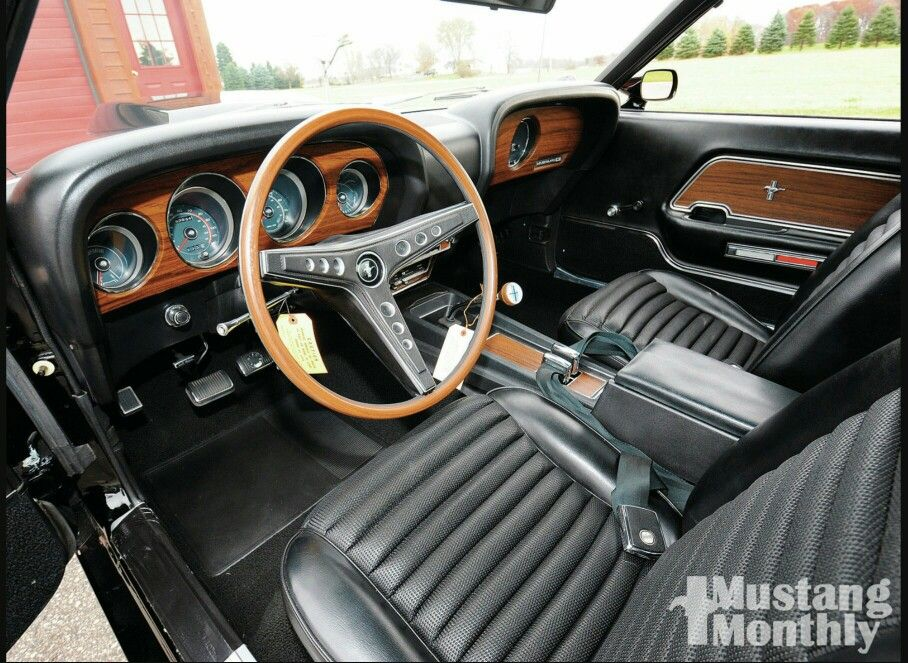 1969 Interior Boss 429 Mustang Best Muscle Cars Muscle Cars