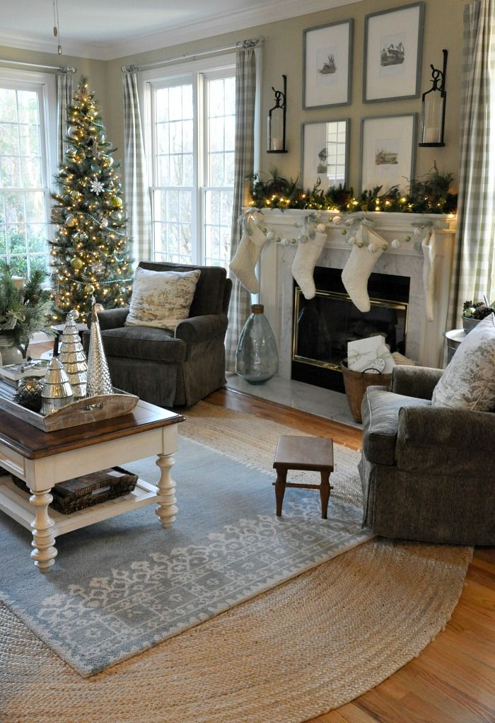 Fabulous matching gray chairs from Craigslist and gray and