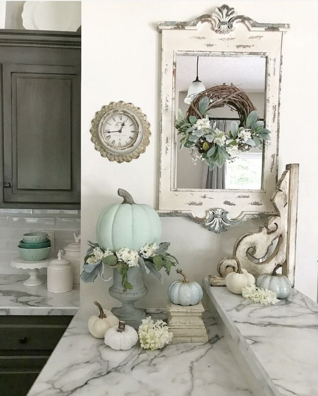 Best Rustic Coastal Decorating Ideas For Simple Home Decor: Gorgeous Neutral Fall Decor Ideas