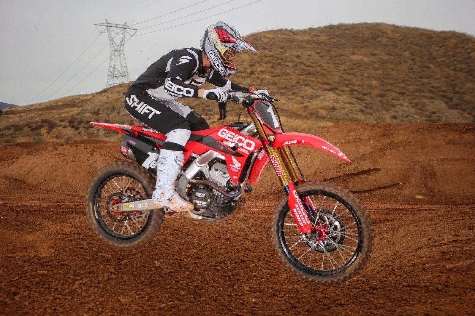 Seeing Red Honda 2020 Team Intro Motocross Feature Stories Vital Mx Motocross Honda Trail Riding
