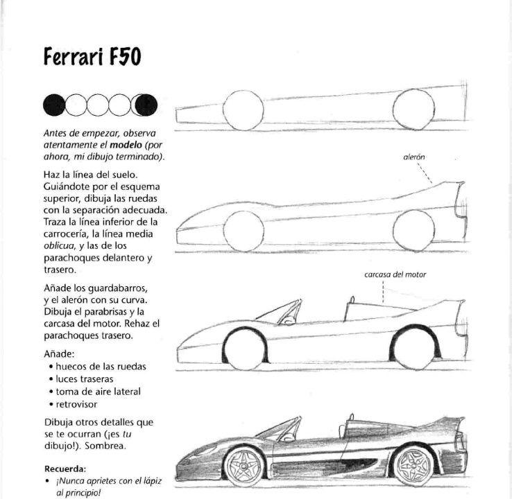 Como Dibujar Autos Paso A Paso Dibujar C Mo Dibujar Y