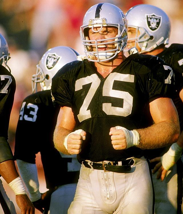 8a4fe2469d7 Howie Long  Hall of Fame Defensive End who spent his career with the Oakland  Raiders