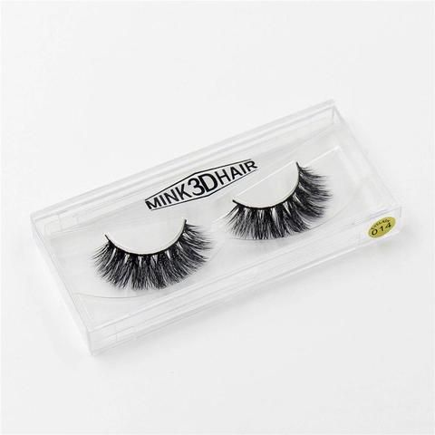 ef80a410a11 3D mink False Eyelashes Handmade Thick Mink Eyelashes Natural for Beauty  Makeup fake Eye Lashes Extension