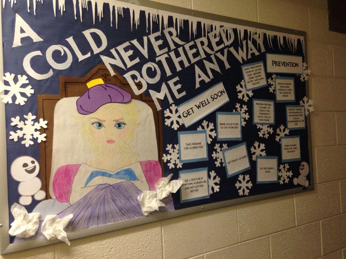 Cold prevention RA bulletin board #rabulletinboards Cold prevention RA bulletin board #rabulletinboards