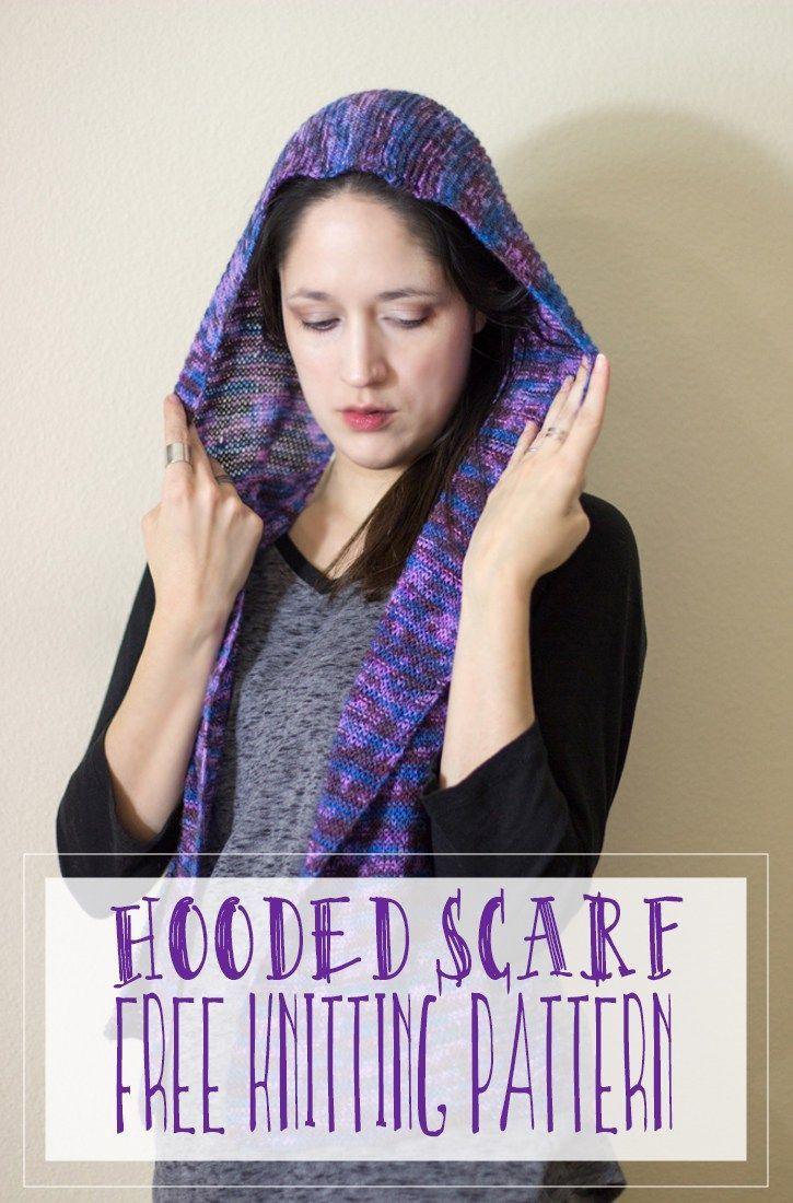 Hooded scarf free knitting pattern hoodie scarf hooded scarf hooded scarf free knitting pattern hoodie scarf bankloansurffo Images