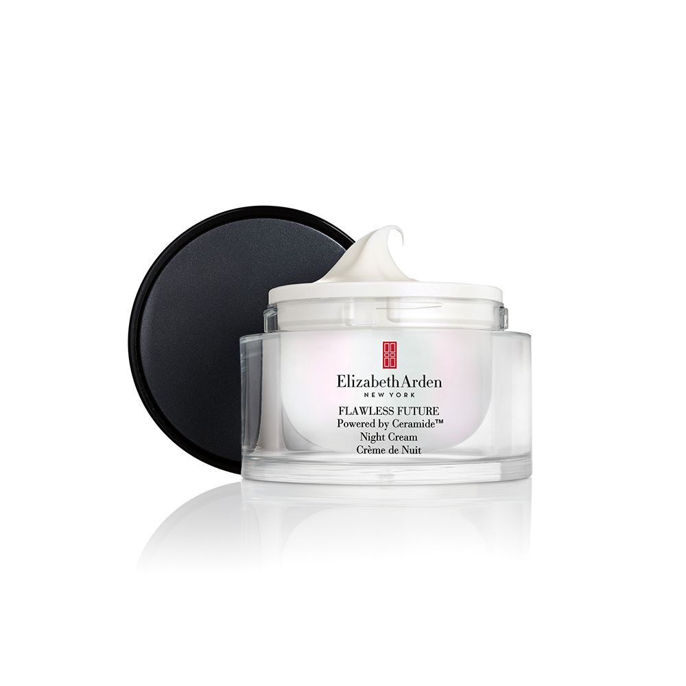 The Elizabeth Arden Flawless Future Powered By Ceramide Night Cream Brightens And Evens Your Skin Tone While Reducing T Night Creams Elizabeth Arden Ceramides