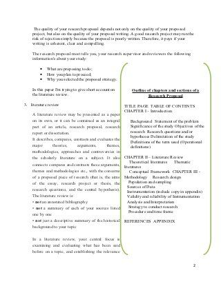 Research Proposal Tips For Writing Literature Review  Literature
