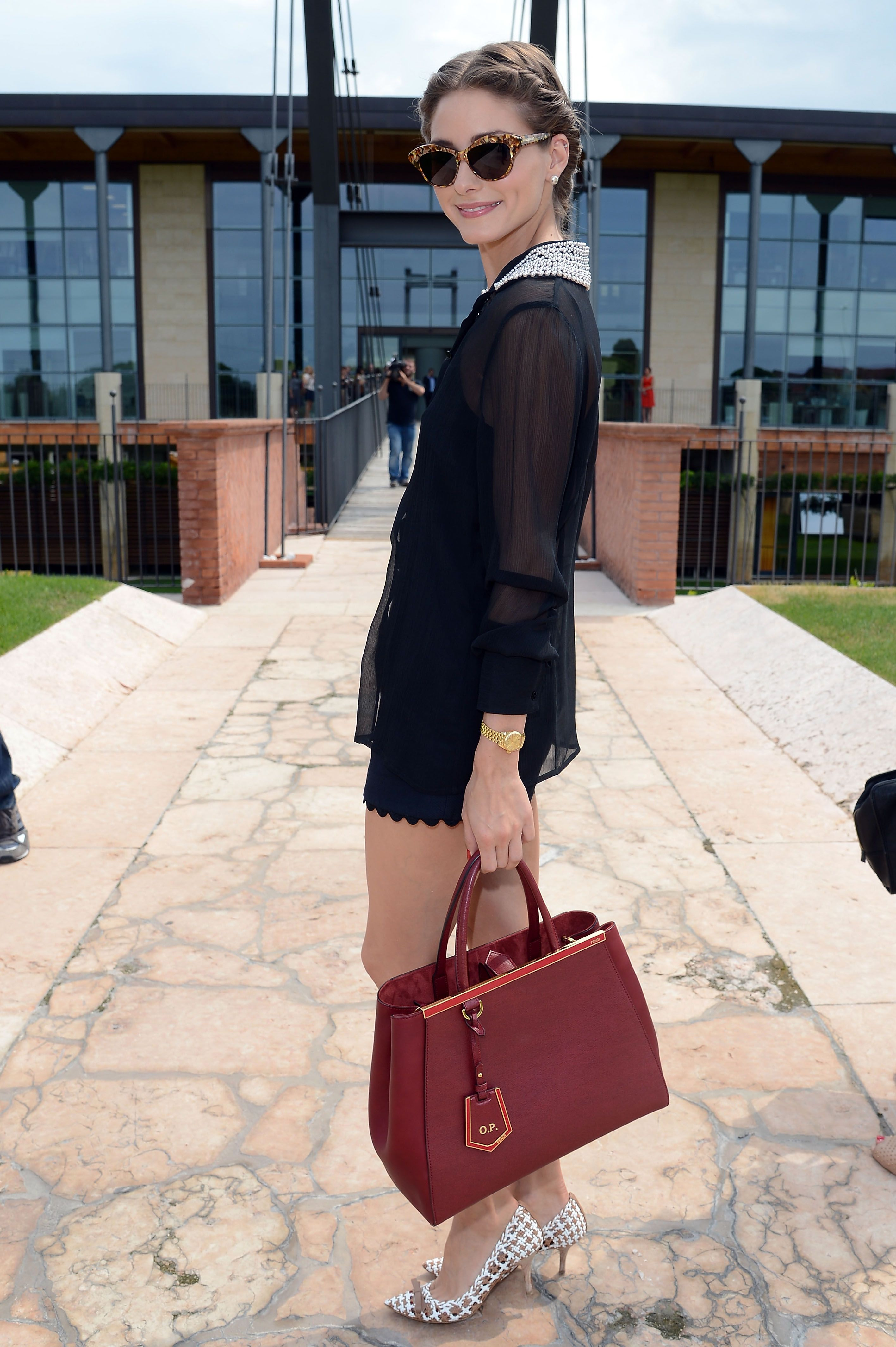a1dba970c67 Olivia Palermo has carried the new FENDI