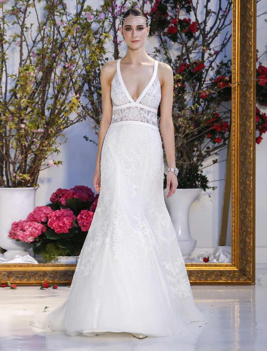Anne barge calliandra wedding dress blue willow bride in lace