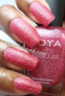 Nails Beautiqued: Zoya Pixie Dust Summer 2013 Collection, Miranda