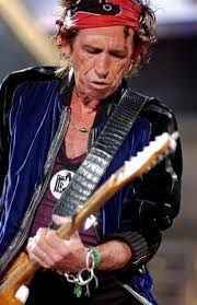 Keith Richards...the writer and guitarist behind some of the greatest rock 'n roll music ever recorded...Thanks for all of those catchy,dirty riffs,Keef !!!