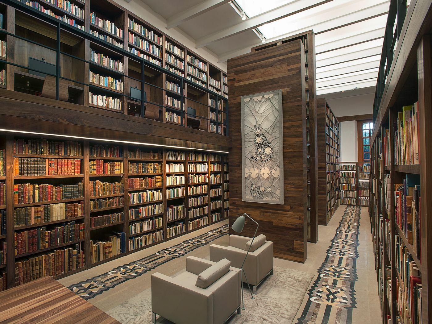 Jsa arquitectura biblioteca personal carlos monsiv is d for Biblioteca arquitectura