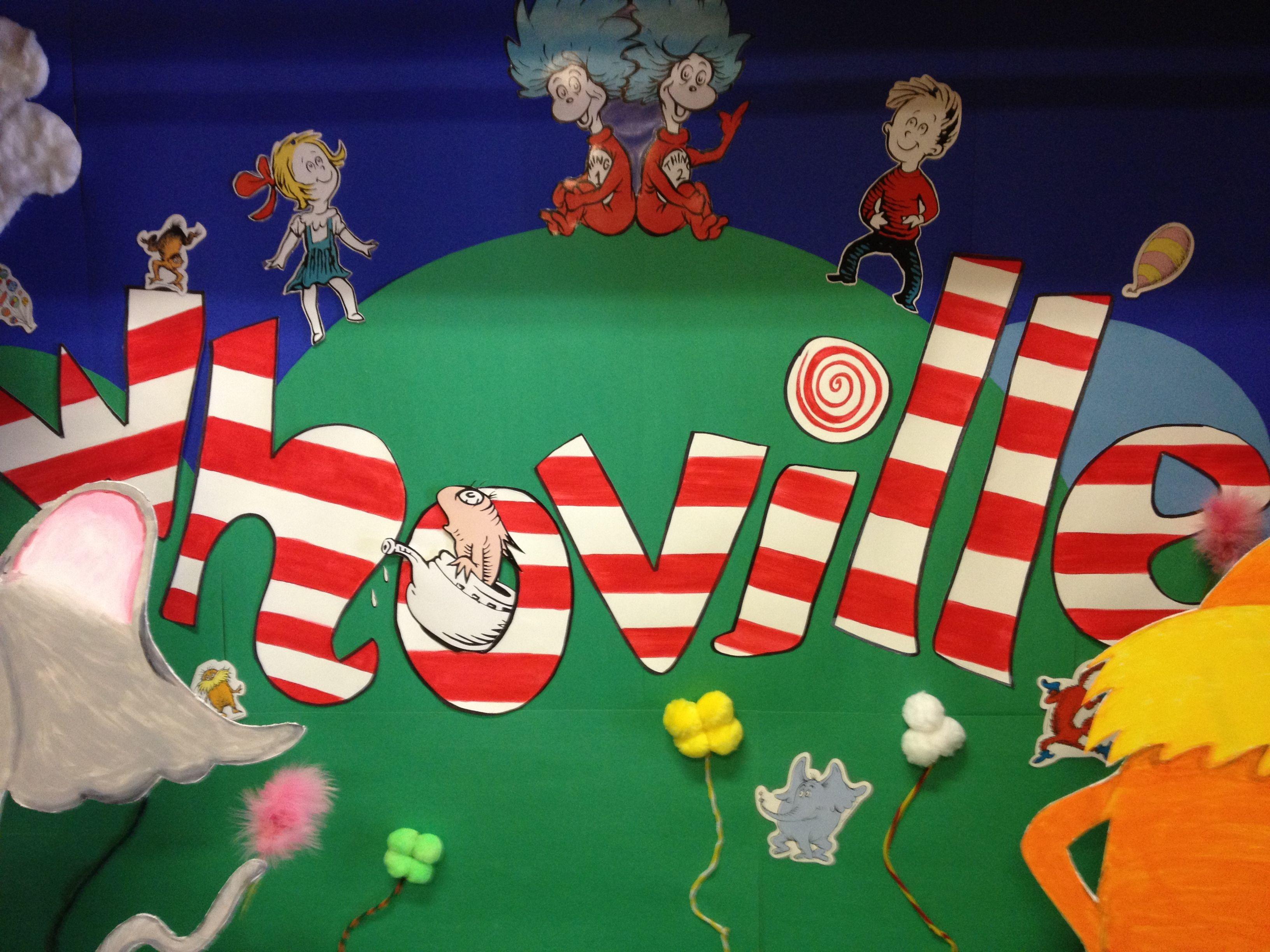 Grinch Stole Christmas Dr Seuss