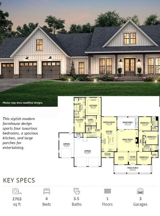 Architectural Design House Plans For Your Dream House In 2020 Architectural Design House Plans House Plans House Design