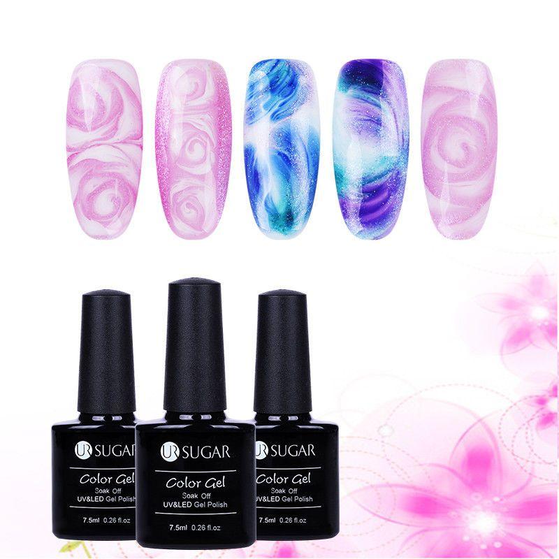 1 75 7 5ml Ur Sugar Nail Art Blossom Uv Gel Long Lasting Nails Blooming Gel Polish Ebay Fashion Sugar Nails Nails Gel Nail Art