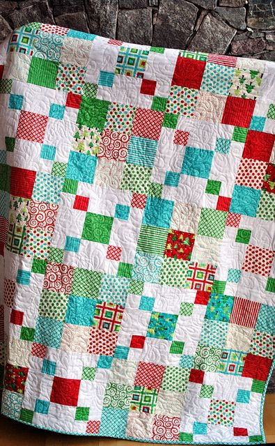 Rocky Road quilt pattern by Sweet Jane's, Ready Set Snow