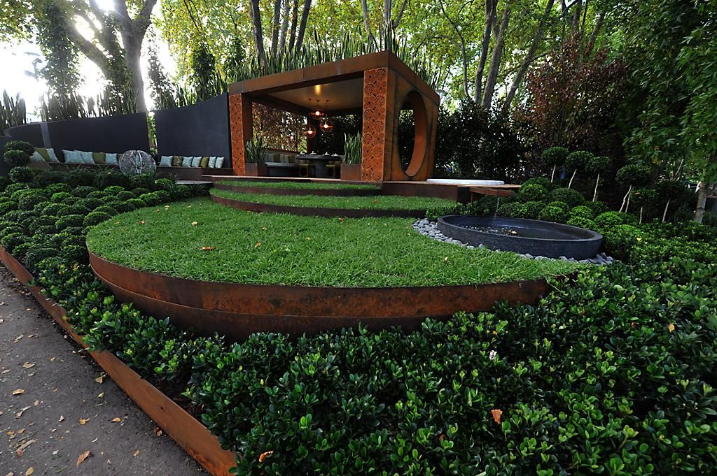 Superior Corten Steel Landscape Edging 1 Metal Garden