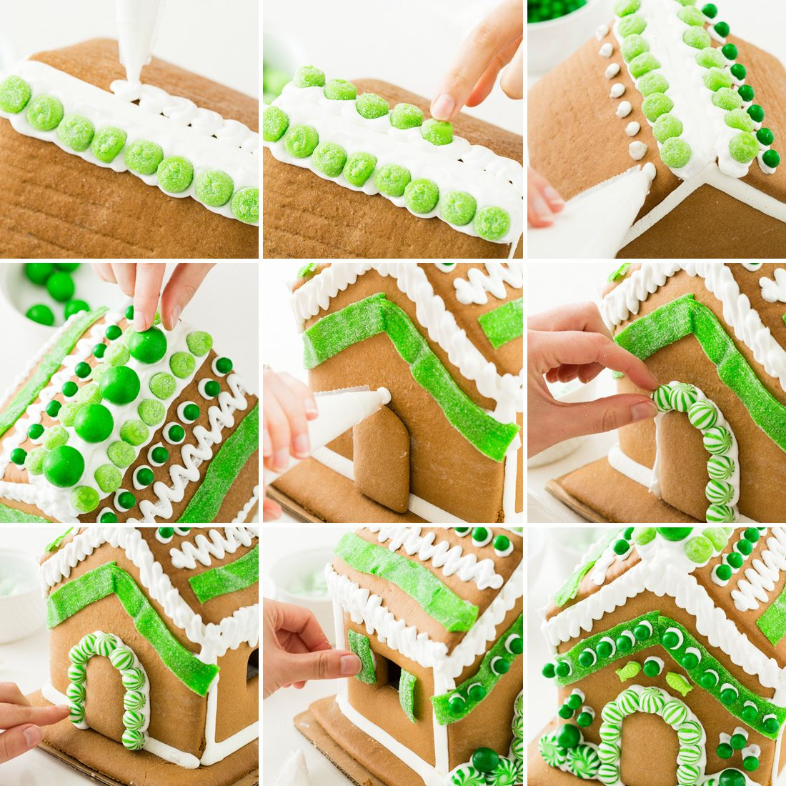 Best Ways To Redecorate With Green: 5 Ways To Decorate The Best Gingerbread House EVER
