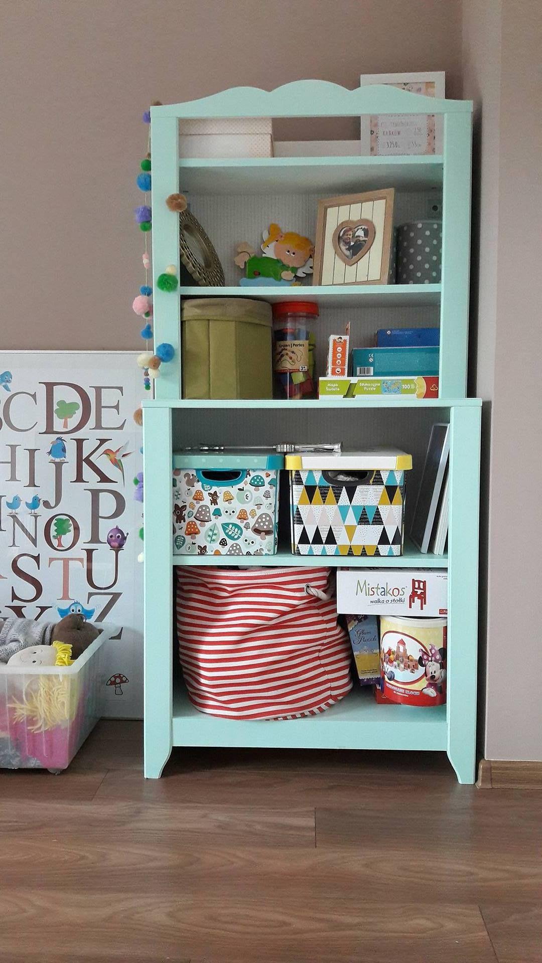 Girl S Room Mint Details Hacked Ikea Hensvik Cabinet Avec Images
