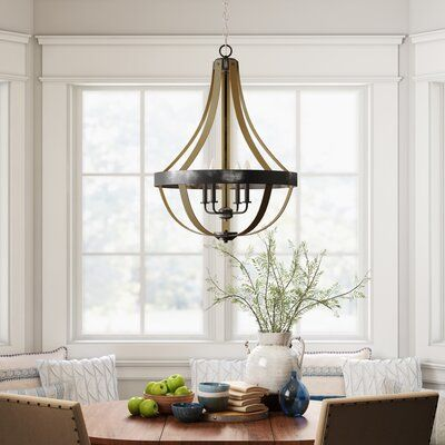 Gracie Oaks Kadence 4-Light Candle Style Empire Chandelier ...