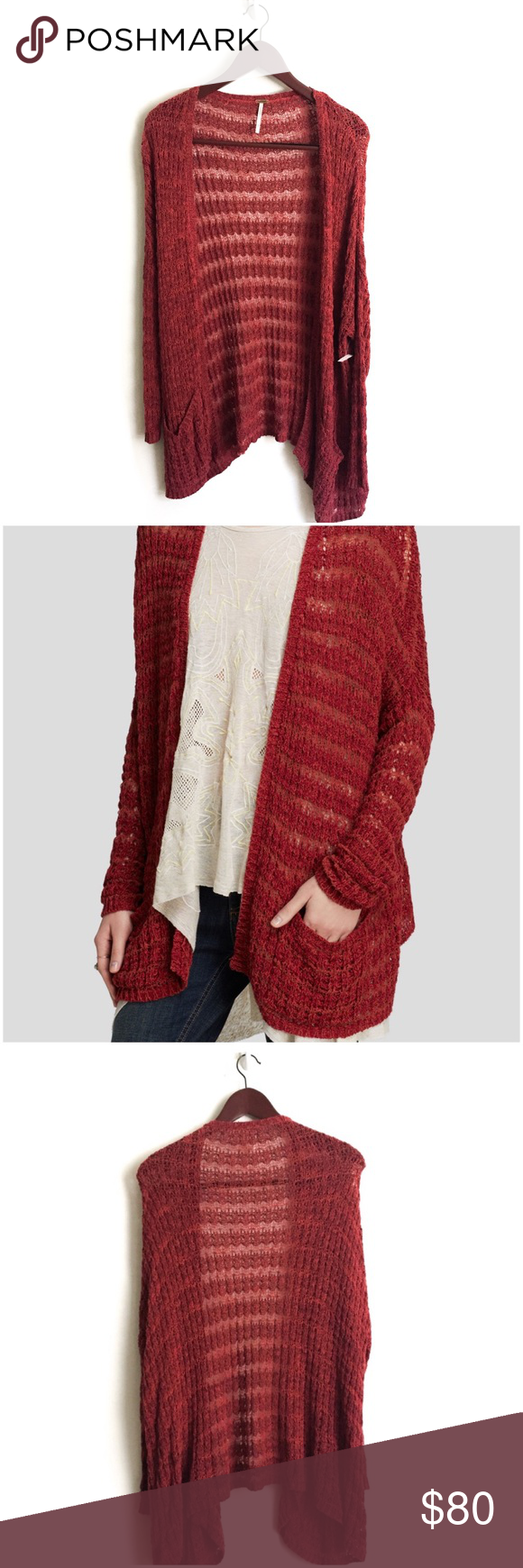 New Free People Cardigan ▫️Anthropologie Free People Cardigan ...