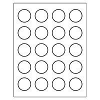 free avery templates round label 20 per sheet packaging