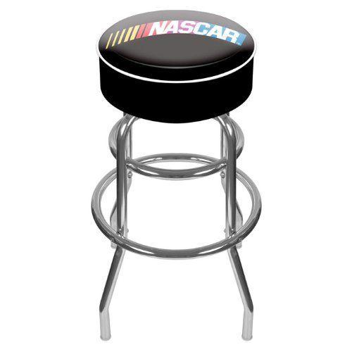 Nascar1000 Nascar Padded Swivel Bar Stool By Usa 219 99 Nascar
