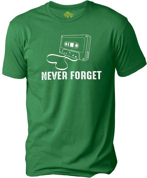 Photo of Never Forget Retro Funny Mens Novelty Humor Sarcasm T Tee Shirt