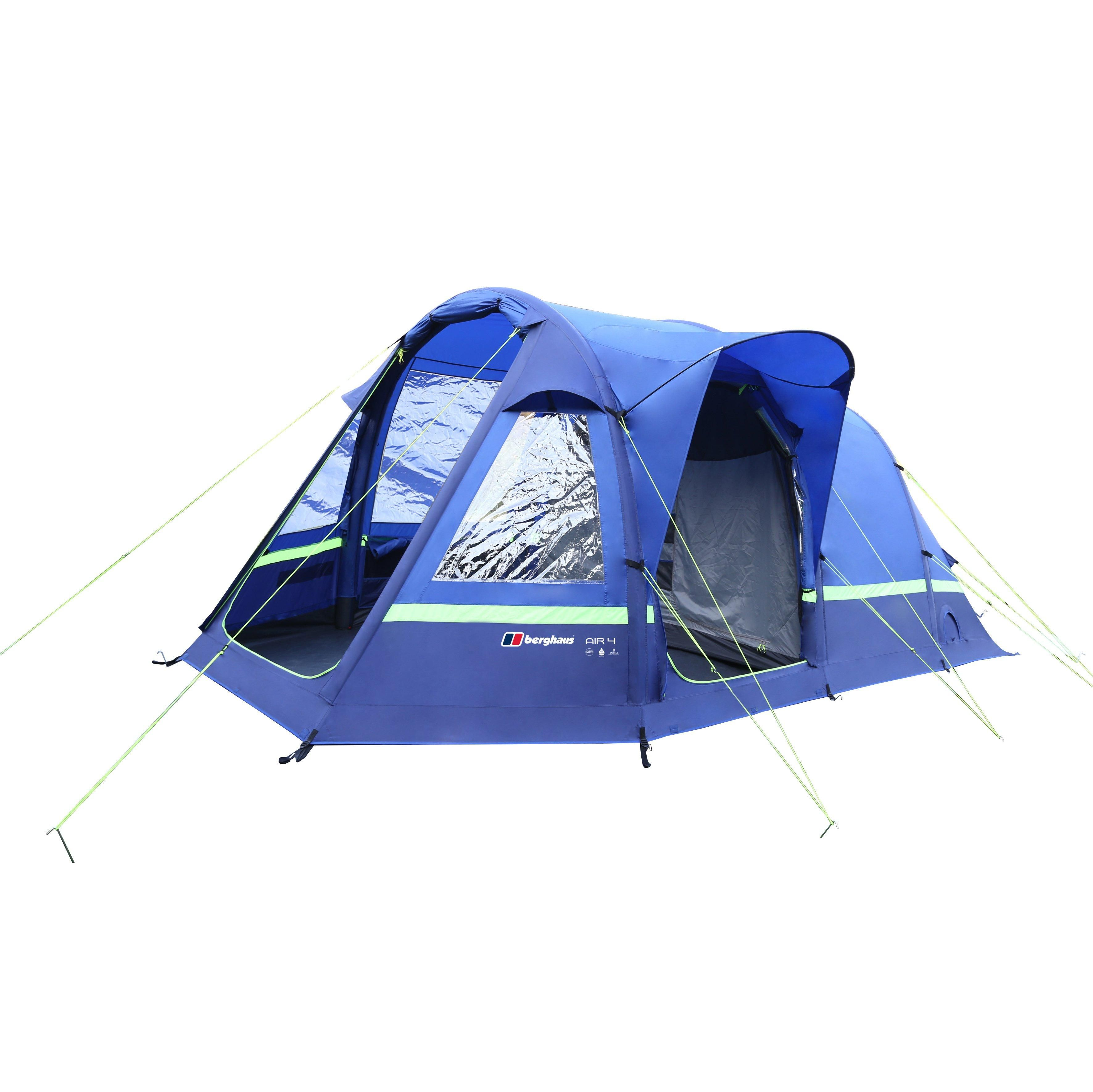 Take the stress out of family c&ing with the revolutionary Air 4 Inflatable family tent from Berghaus which pitches in minutes.  sc 1 st  Pinterest & Air 4 Inflatable Tent | Camping | Pinterest | Camping magazine ...