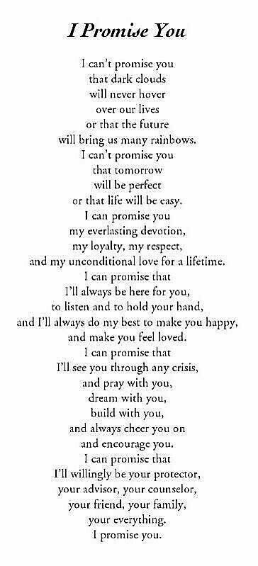 I promise you! is part of Famous love quotes -