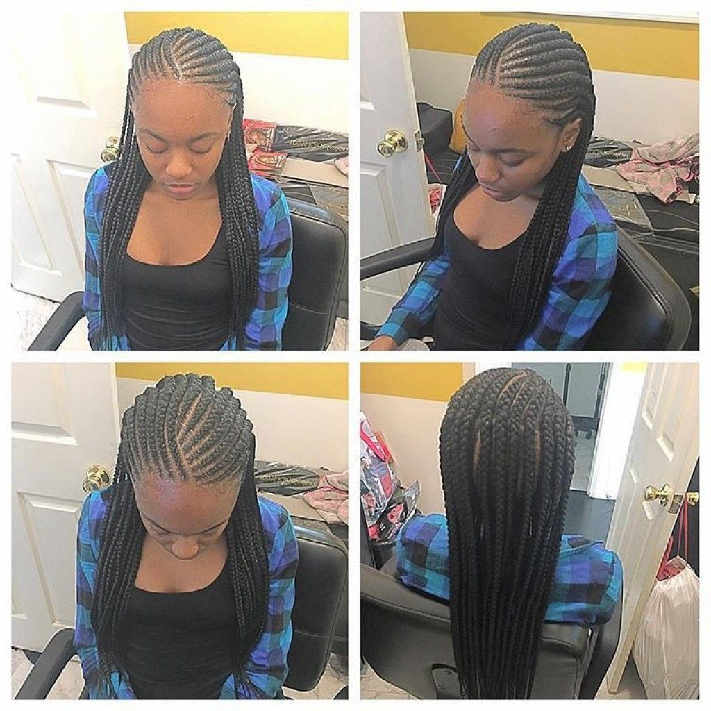 Two Step Cornrows Two Layer Cornrows Braided Styles Fit Black