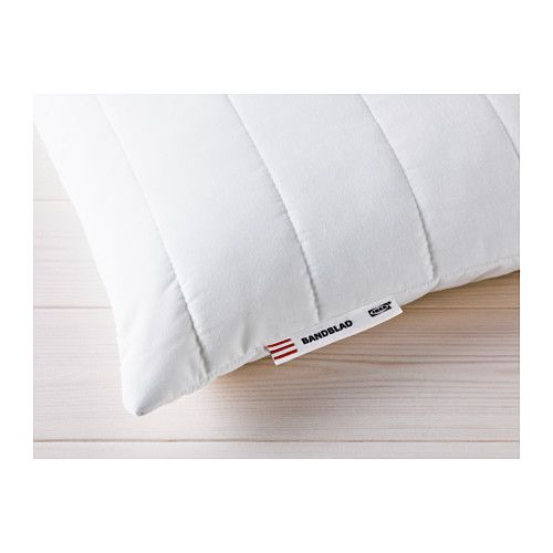 ikea - bandblad, memory foam pillow, , gives good support and