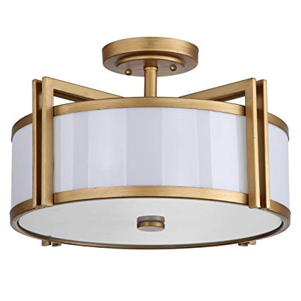 : Safavieh Lighting Collection Orb Antique Gold