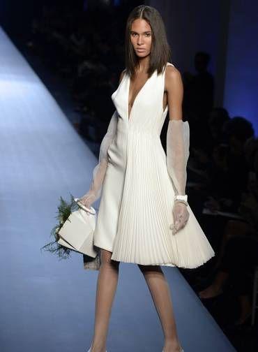 Jean Paul Gaultier couture verão 2015 Foto: MIGUEL MEDINA / AFP