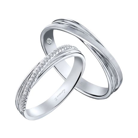 Lorraine Z - Spark Your Brilliance Platinum Ring, Eternity Bands, Diamond  Bands, Wedding 61b3fbcd123