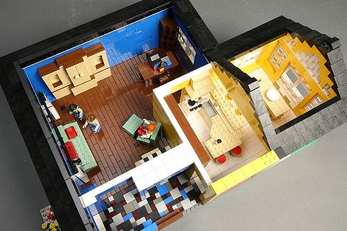 My Workspace, Room Kitchen, The Roof, Rooms Furniture, Legos, My House,  Jack Ou0027connell, Scale, Dining Rooms Part 33